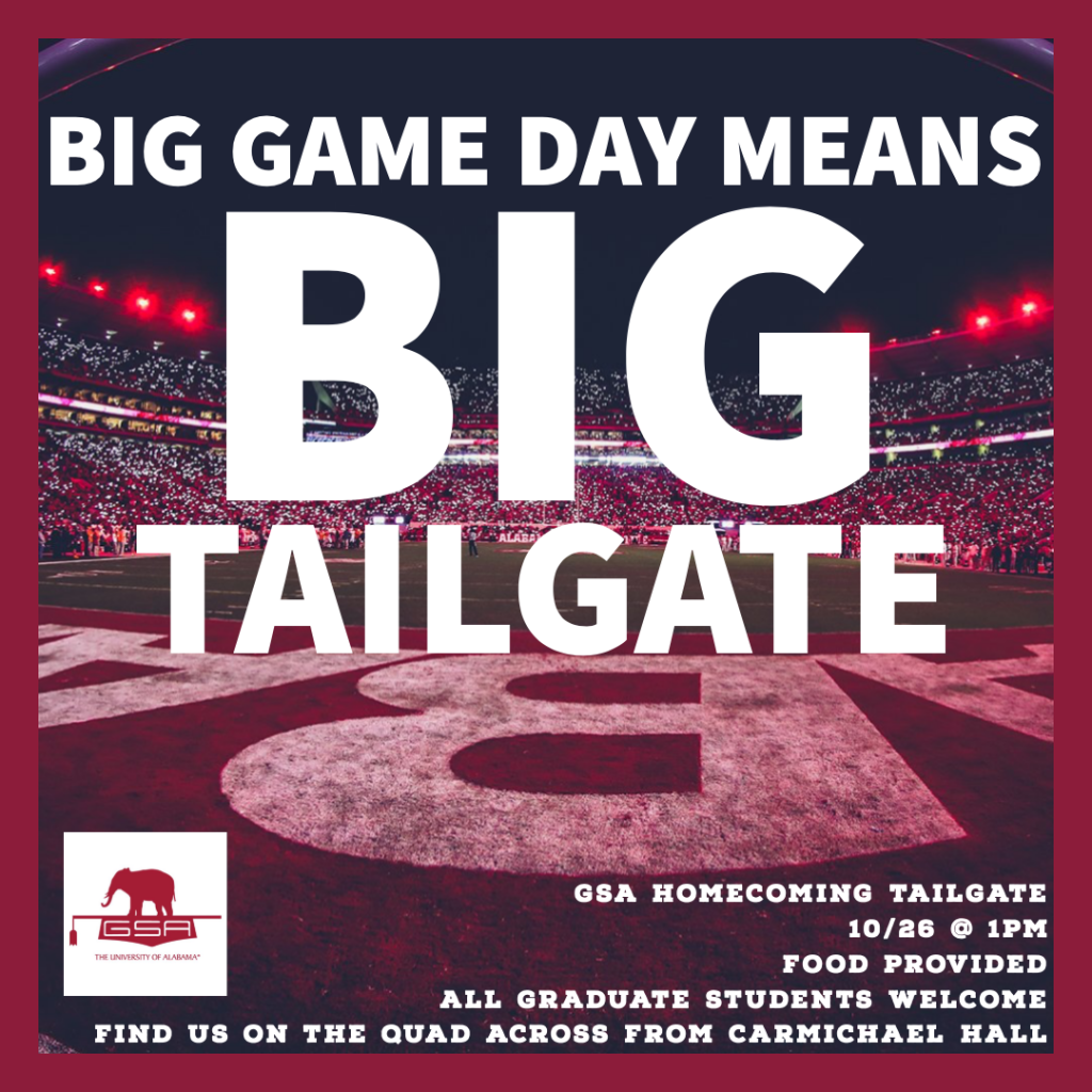 Homecoming tailgate graphic